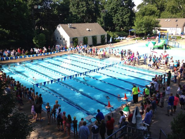 Splish, Splash, and Dash Youth Triathlon at the Bexley Pool