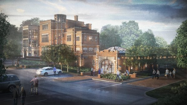 Jeffrey Mansion Expansion Project Rendering