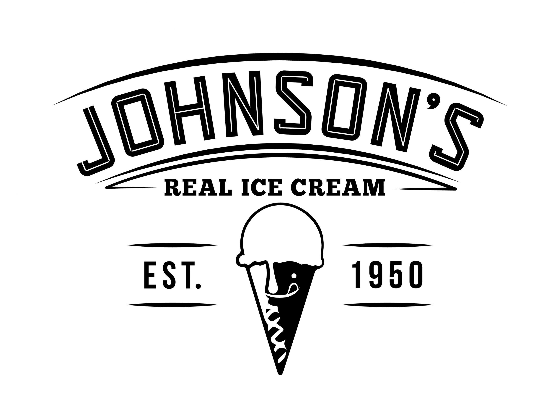 Johnson's Ice Cream Logo - new 2017